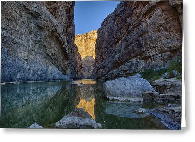 Rio Grand - Big Bend Greeting Card