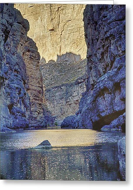 Rio Grand, Santa Elena Canyon Texas 2 Greeting Card