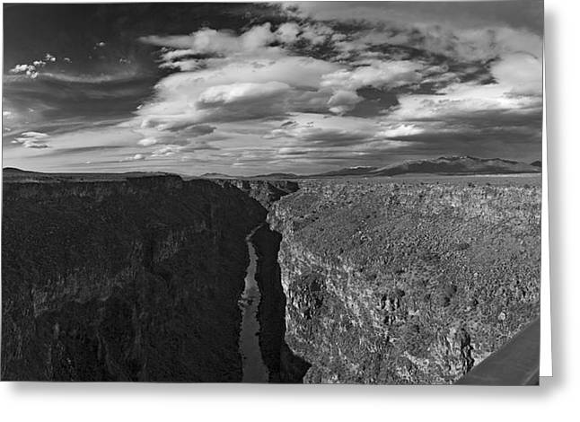 Rio Grande Greeting Card by Gary Cloud