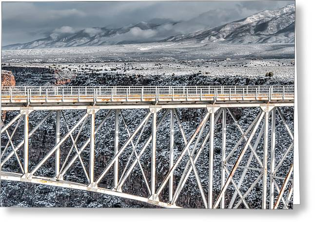 Rio Grande Gorge Bridge #001 Greeting Card