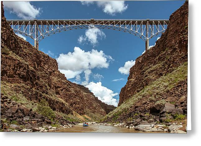 Rio Grande Gorge Bridge Greeting Card