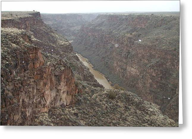 Rio Grande River Greeting Card by Allison Jones