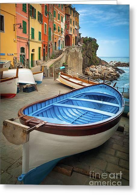 Rio Maggiore Boat Greeting Card