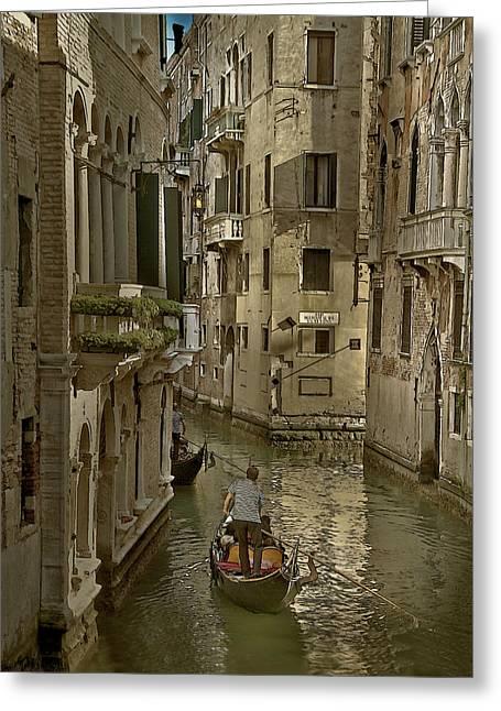 Greeting Card featuring the photograph Rio Menuo O De La Verona by John Hix