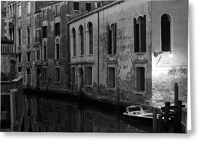 Greeting Card featuring the photograph Rio Terra Dei Nomboli, Venice, Italy by Richard Goodrich