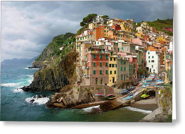 Riomaggiore Italy Greeting Card