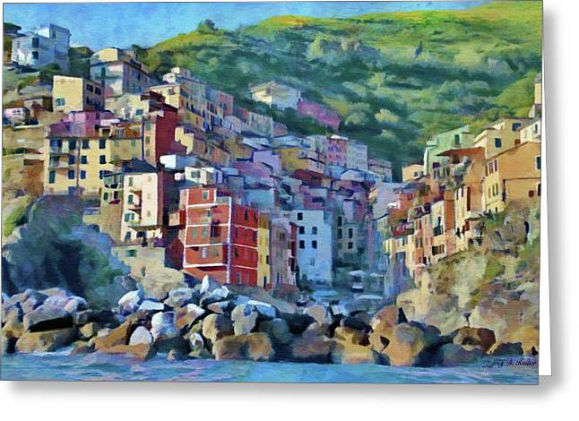 Riomaggiore Greeting Card by Jeff Kolker