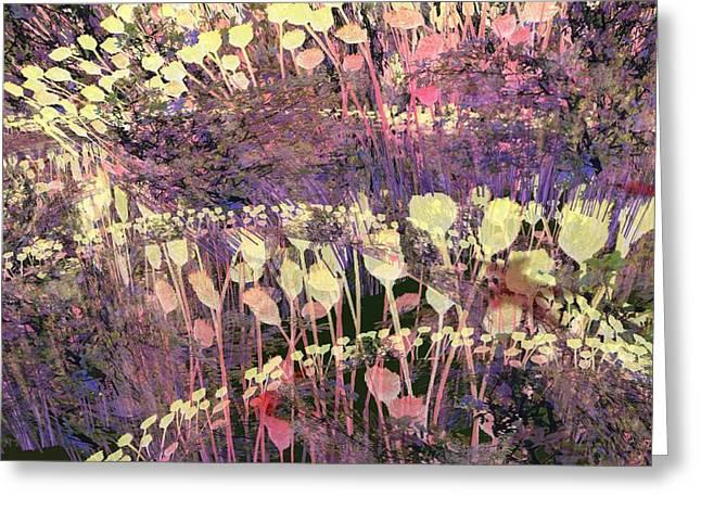 Riotous Spring Greeting Card by Thomas Smith