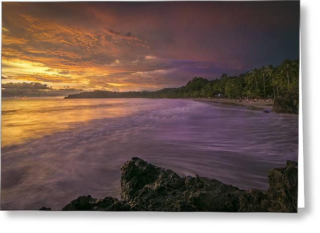 Rip Tide Greeting Card by Jeremy Jensen