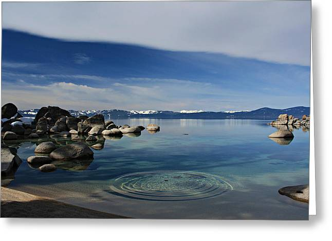 Greeting Card featuring the photograph Ripples   by Sean Sarsfield