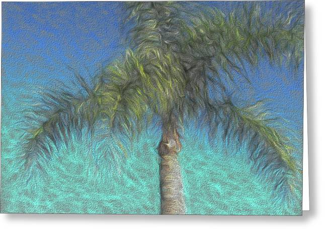 Rippled Palm Greeting Card