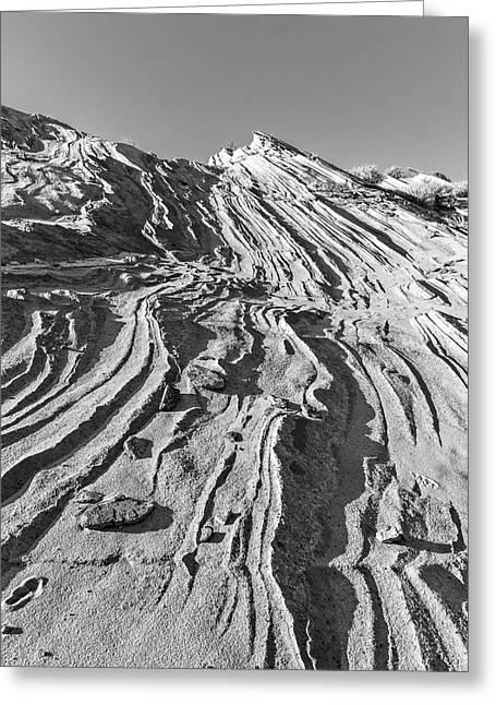 Rippled Sandstone At Waterhole Canyon Greeting Card