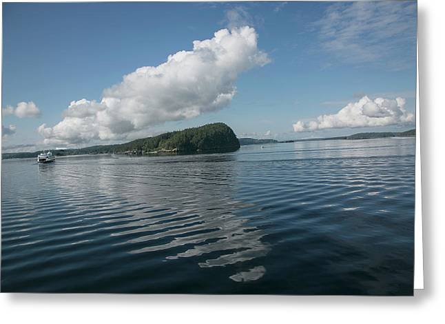 Greeting Card featuring the photograph Ripples by Elvira Butler