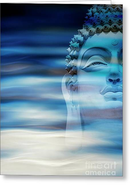 Rippling Buddha Greeting Card