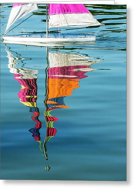 Rippling Reflections Greeting Card