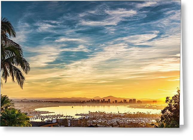 Greeting Card featuring the photograph Rise And Shine by Dan McGeorge