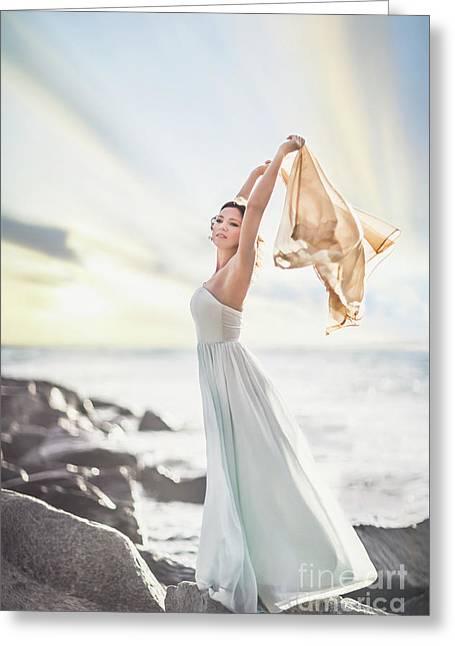 Rise And Shine Greeting Card by Evelina Kremsdorf