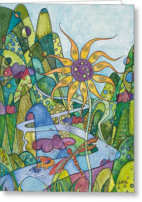 Rise And Shine Greeting Card by Tanielle Childers