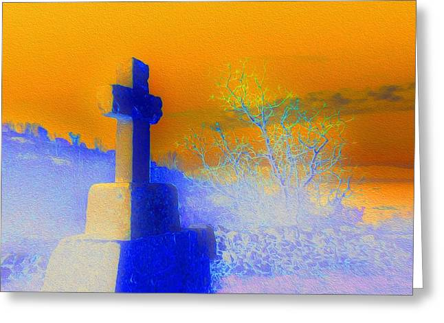 Rise Greeting Card by Ann Johndro-Collins