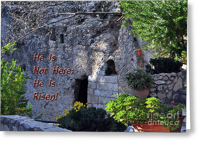 Risen Greeting Card