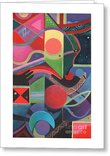 Rising Above And Synergy 2 Greeting Card by Helena Tiainen