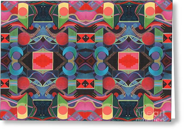 Rising Above And Synergy 4 Greeting Card