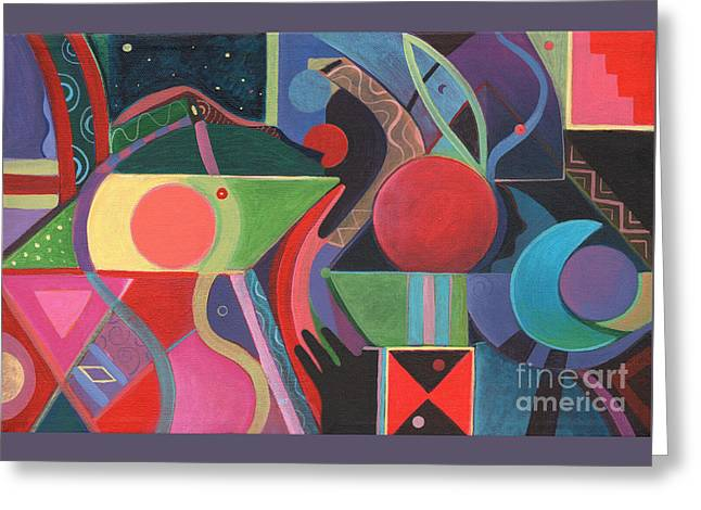 Rising Above And Synergy Greeting Card