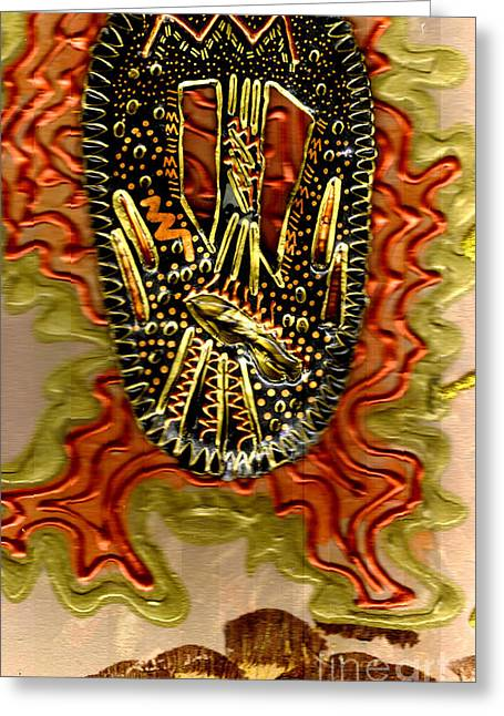 Rising Above II Greeting Card by Angela L Walker