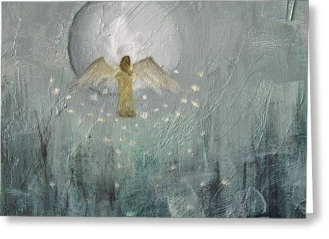 Rising Hope Greeting Card by Kathleen Barnes