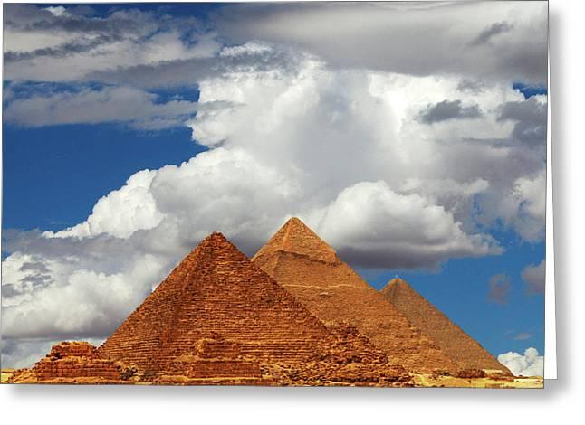 Rising In The Sahara Greeting Card