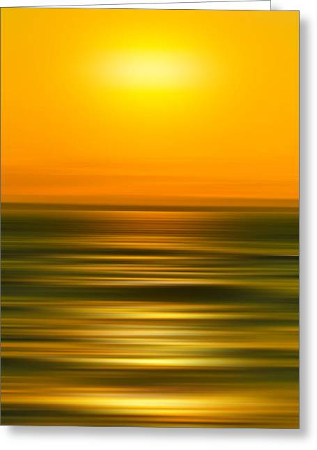 Rising Sun Greeting Card by Az Jackson