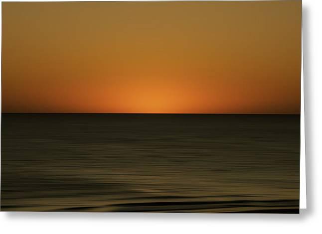 Rising Sun Greeting Card by Mario Celzner