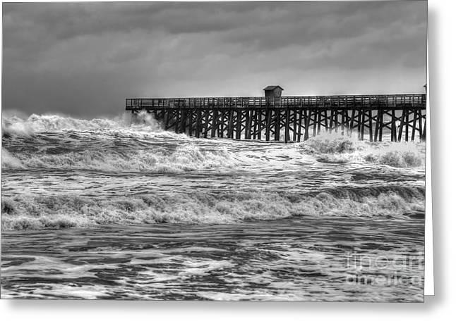 Rising Tide Greeting Card by Rick Mann