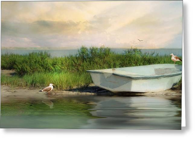 Rising Tide Greeting Card by Robin-Lee Vieira