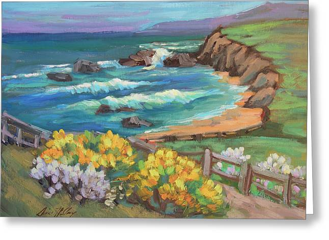Ritz Carlton At Half Moon Bay Greeting Card by Diane McClary