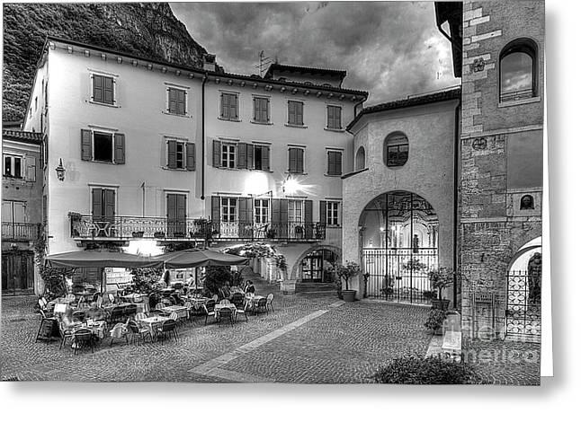 Riva Del Garda Greeting Card by Christian Hallweger