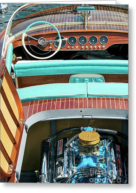 Riva Super Ariston Launch Greeting Card by Tim Gainey