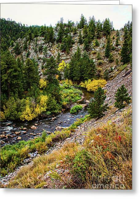 River Bend Greeting Card by Jon Burch Photography