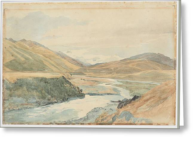 River Clarence 1864 New Zealand By James Crowe Richmond Greeting Card by Celestial Images