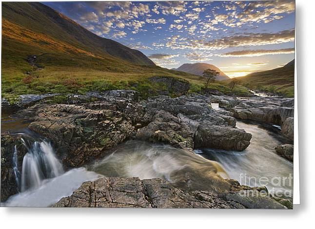 River Etive 2 Greeting Card by Rod McLean