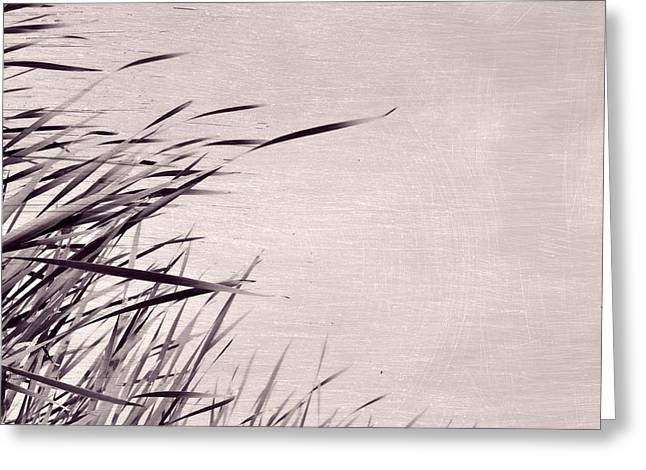 Greeting Card featuring the photograph River Grass by Michelle Calkins