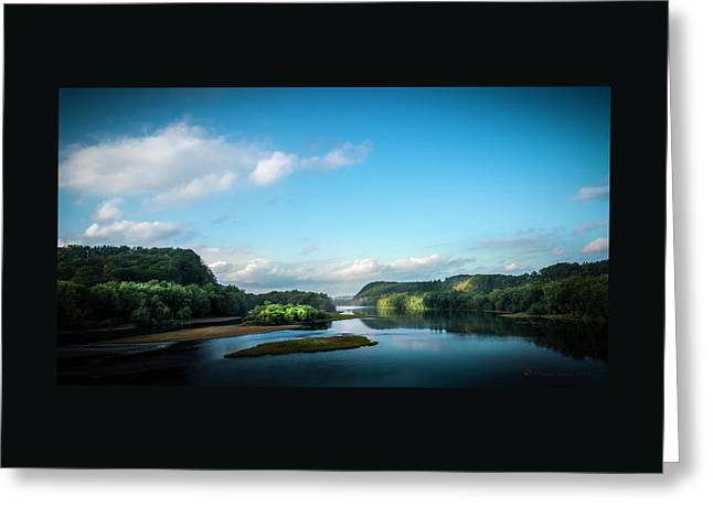 River Islands Greeting Card by Marvin Spates