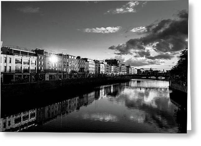 River Liffey Greeting Card