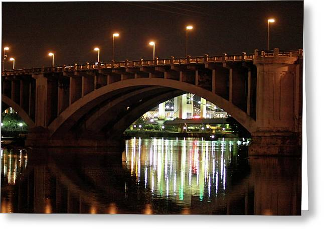 Greeting Card featuring the photograph River Nights by Kate Purdy