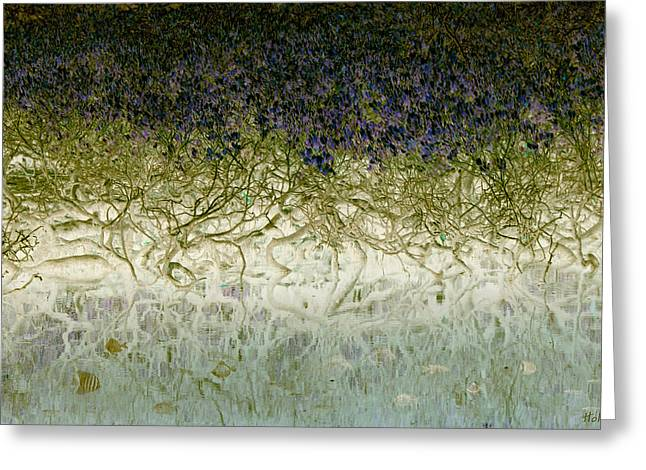 River Of Life Greeting Card by Holly Kempe