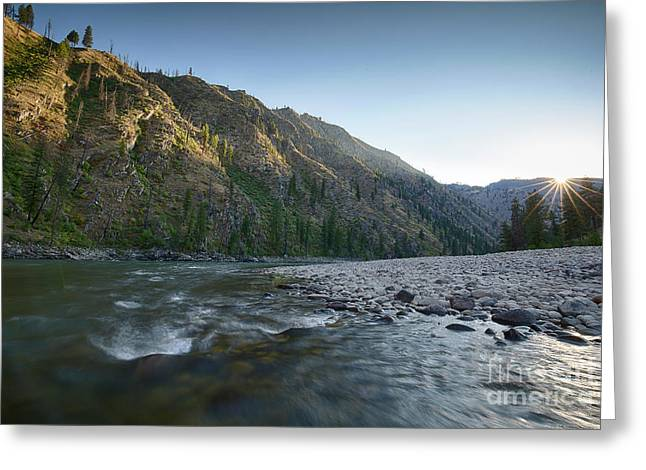 River Of No Return Greeting Card by Idaho Scenic Images Linda Lantzy