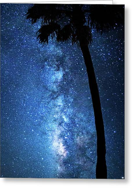 Greeting Card featuring the photograph River Of Stars by Mark Andrew Thomas
