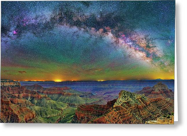 River Of Stars Greeting Card