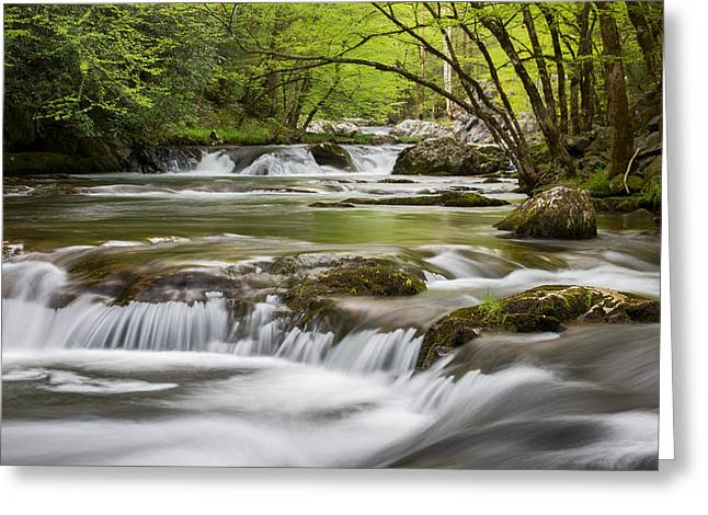 River Peace Greeting Card
