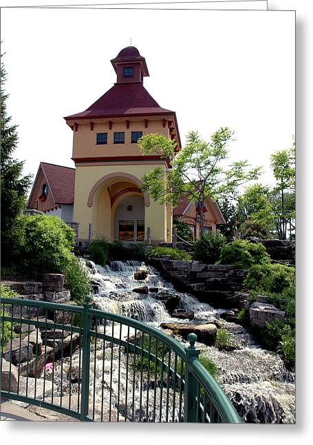 River Place Greeting Card